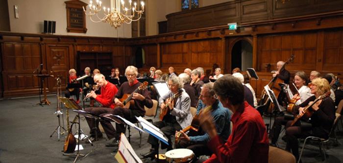 2011 Concert m.m.v. Chorõs Quintet, Grote Kerk, Enschede