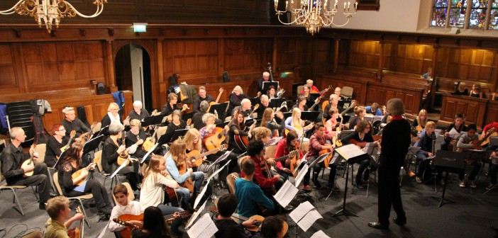 2013 TMGO, Amsterdams Gitaar en Mandoline Duo, Kaliber Kunstenschool en Multiple Voices, Grote Kerk, Enschede